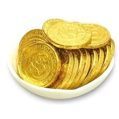 Monete e medaglioni di Cioccolato