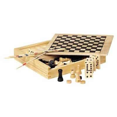 Set 4 giochi in legno