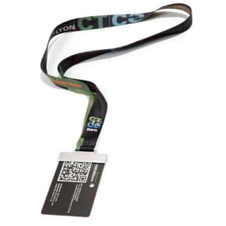 Lanyard con paddock card holder
