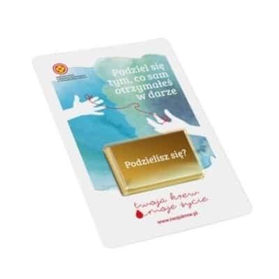 Promo Card Choco 10 gr.