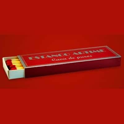 "Scatolina 12 fiammiferi tipo ""svedesi"" stampa a caldo"