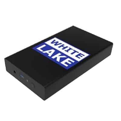 White Lake Ultra External HDD