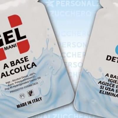 GEL MANI IDROALCOLICO monodose 2 ml - bustina 6x8 cm
