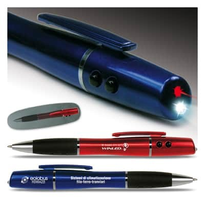 Penna a sfera/puntatore/laser/torcia