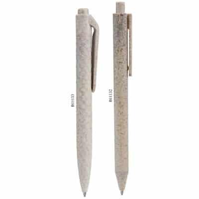 Penna a Sfera in paglia di grano e ABS