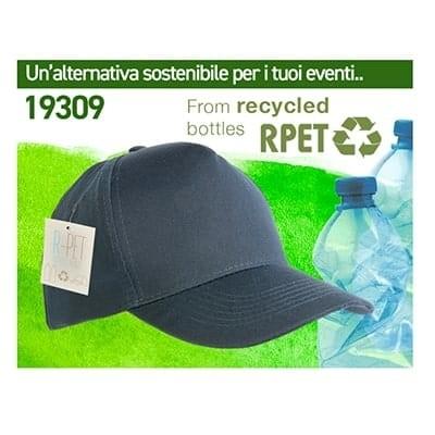 Cappellino Sostenibile da Bottiglie Riciclate