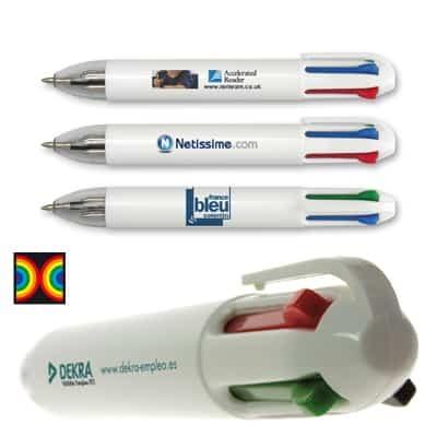 Penna a sfera 4 colori