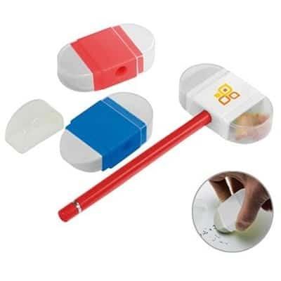 tempera matite con gomma incorporata