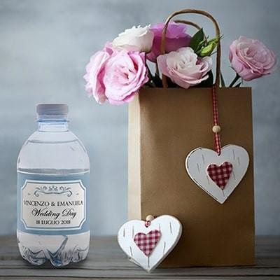 Bottigliette d'acqua per eventi