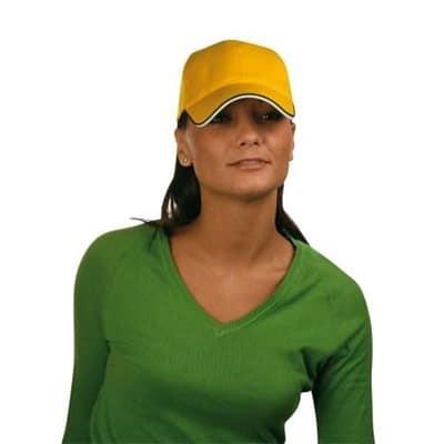Cappellino baseball 6 pannelli