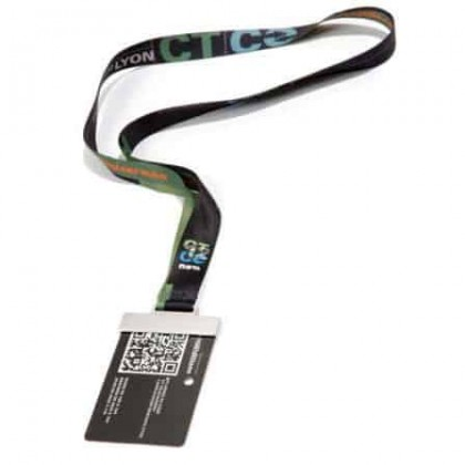Lanyard con paddock card holder