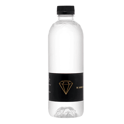 Diamond bottle label 37 cl