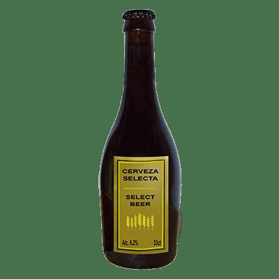 Birra artigianale spagnola in bottiglia di vetro