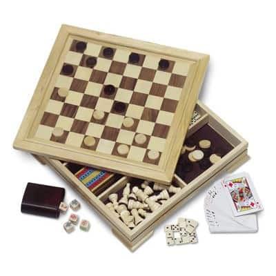 Set 8 giochi in legno