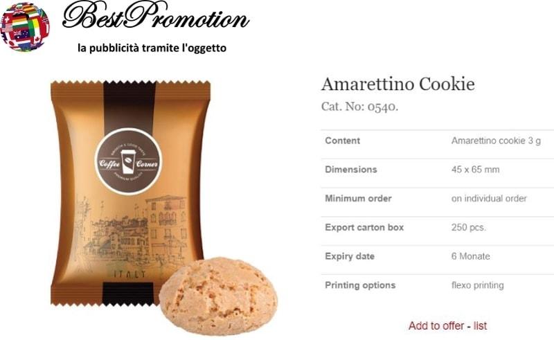 Amaretto Cookie