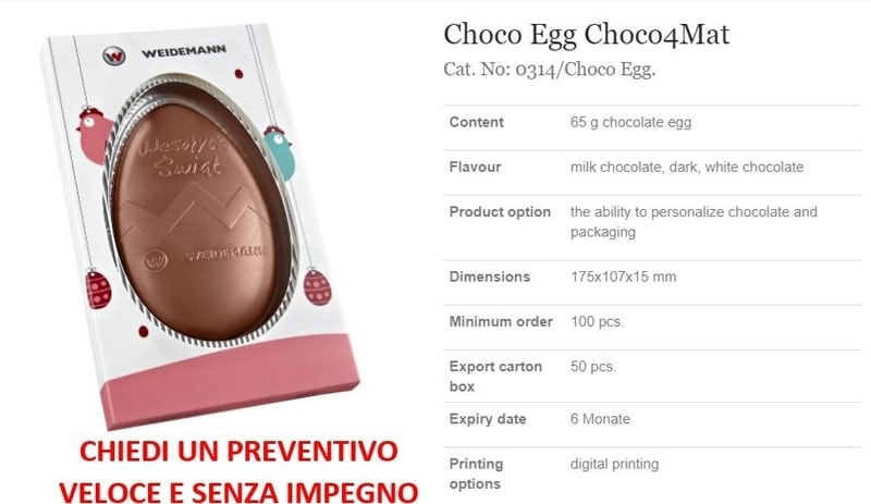Choco Egg Choco4Mat
