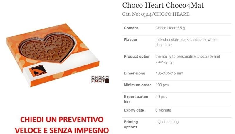 Choco Heart Choco4Mat