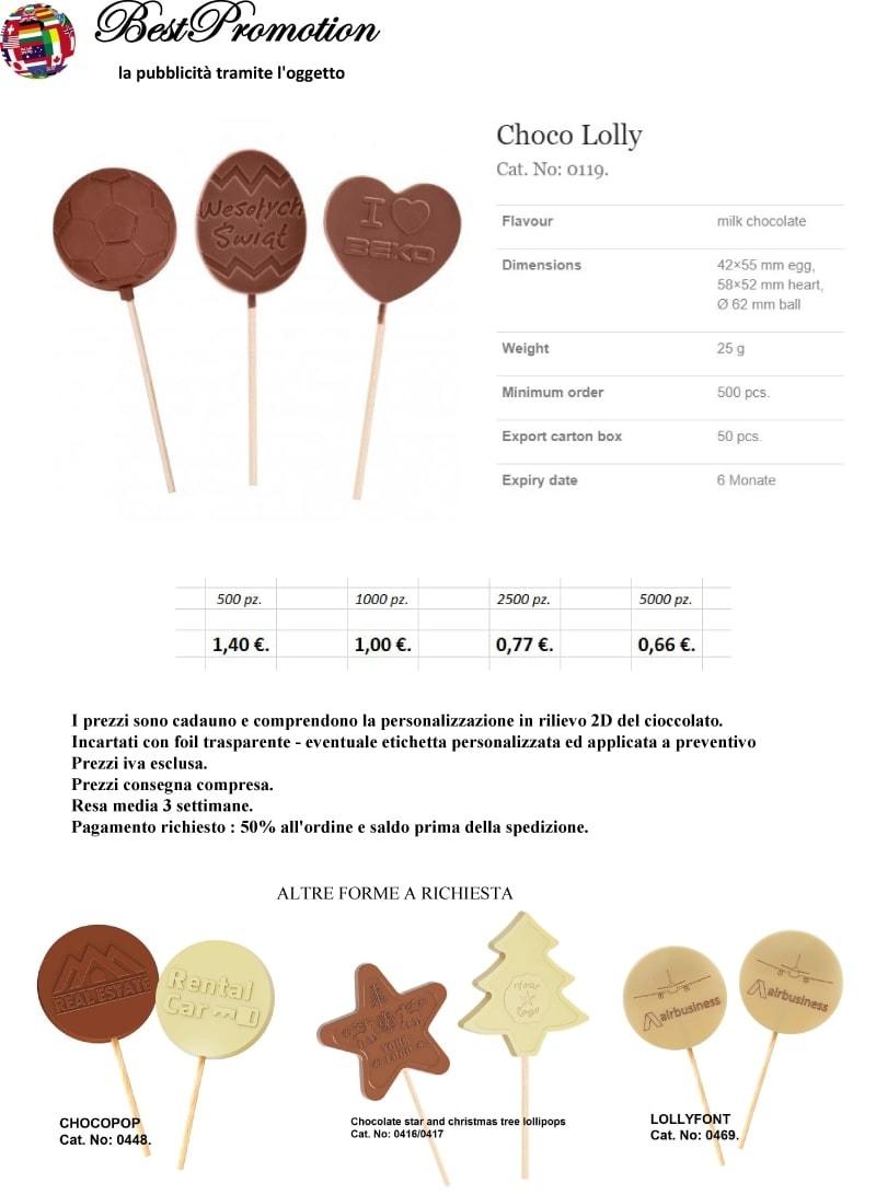 Choco Lolly personalizzato