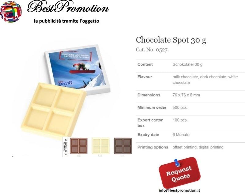 Choco Spot 30 gr. personalizzato