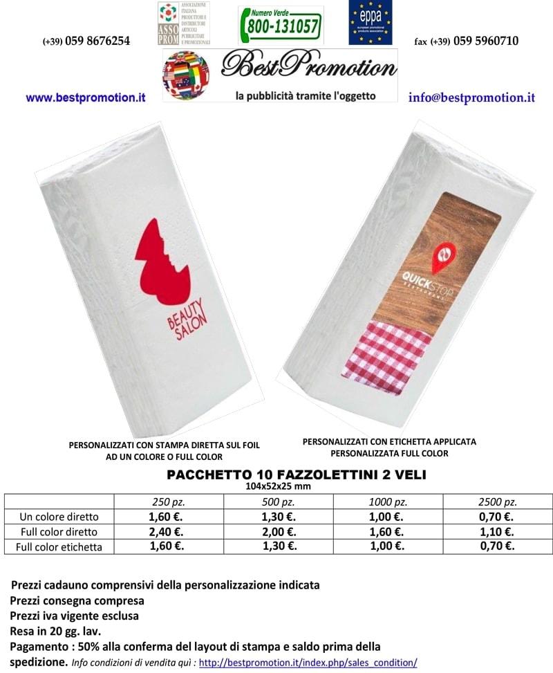 fazzoletti personalizzati