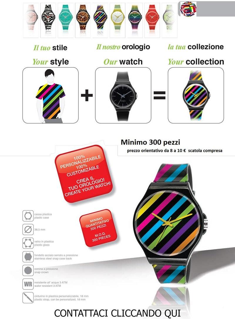 Creazione di un orologio personalizzato