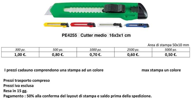 cutter personalizzato