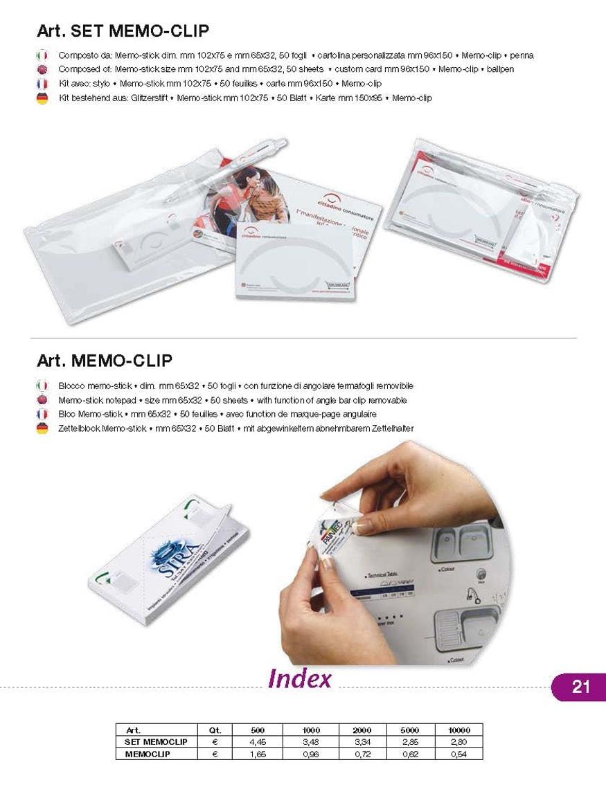 blocchi di carta personalizzati