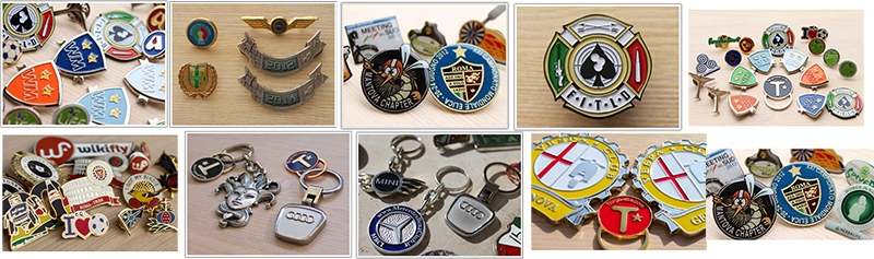 Spille pins personalizzate