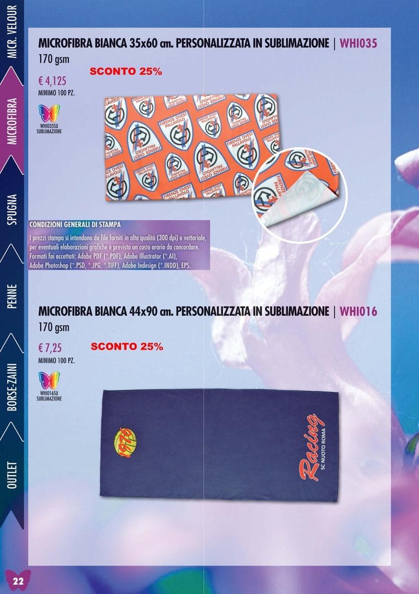 Microfibra Personalizzato Velour